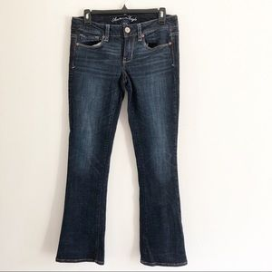 American Eagle Skinny kick stretch jeans. 8